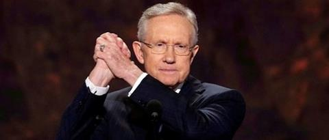 Harry Reid Celebrates CBO Report of Job Loss Caused by Obamacare as 'Free Agency'