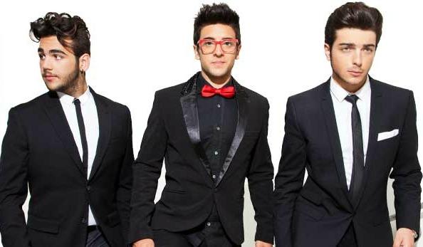Italian pop trio Il Volo
